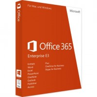 Microsoft Office 365 Enterprise E3 5 Users New Key Code For Windows